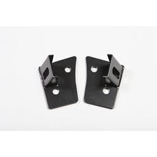 Rugged Ridge 11027.03 Windshield Auxiliary Light Mounting Brackets