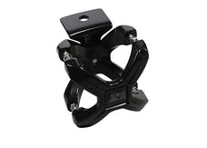 Rugged Ridge 11030.01 X-Clamp; Black; 2.25-3 Inches