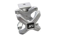 Rugged Ridge 11030.11 X-Clamp; Silver; Pair; 2.25-3 Inches