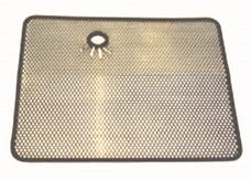 Rugged Ridge 11106.02 Radiator Bug Shield; Stainless Steel; 87-95 Jeep Wrangler YJ