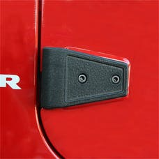 Rugged Ridge 11202.05 Door Hinge Cover Kit, Black