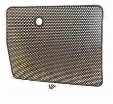 Rugged Ridge 11213.01 Radiator Bug Shield, Black