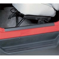 Rugged Ridge 11216.01 Jeep Wrangler TJ Door Entry Guard Set; Black