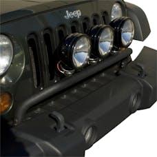 Rugged Ridge 11232.20 Jeep Wrangler JK Bumper Mounted Light Bar; Textured Black