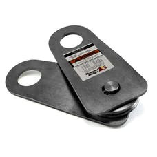 Rugged Ridge 11235.10 Snatch Block Pulley; 20000 pounds