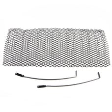 Rugged Ridge 11401.31 Mesh Grille Insert; Black; 07-17 Jeep Wrangler JK