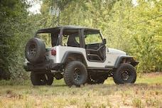 Rugged Ridge 11509.20 Tube Doors; Locking; 97-06 Jeep Wrangler TJ