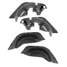 Rugged Ridge 11620.50 4 Piece Inner Fender Liner Kit; 07-17 Jeep Wrangler JK
