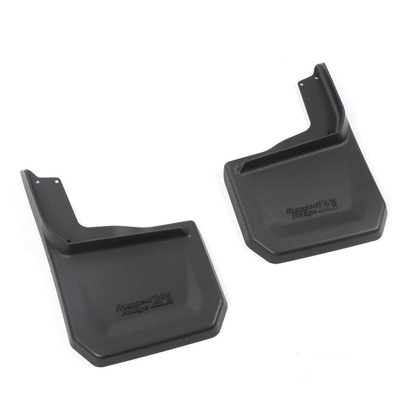 Rugged Ridge 11642.12 Splash Guard Kit, Rear