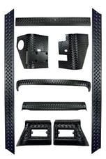 Rugged Ridge 11650.50 9 Piece Full Body Armor Kit
