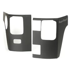Rugged Ridge 11651.07 Rear Corner Kit; Body Armor; 2 Door; 07-17 Jeep Wrangler JK