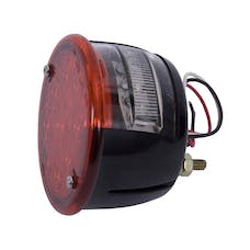 Rugged Ridge 12403.81 LED Tail Light Assembly; Left Side; 46-75 Willys/Jeep CJ Models