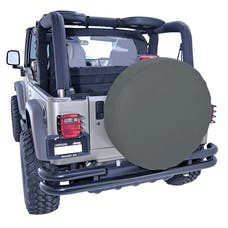 Rugged Ridge 12801.35 27-29 Inch Tire Cover; Black Diamond