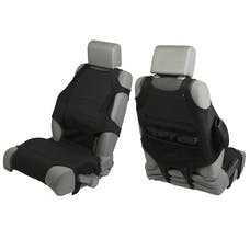 Rugged Ridge 13235.30 Neoprene Seat Protector Vests; Black; 07-17 Jeep Wrangler JK