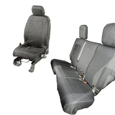 Rugged Ridge 13256.04 1200 DenierBlack Elite Ballistic Seat Cover Set