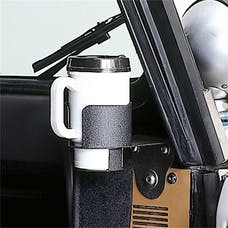 Rugged Ridge 13306.01 Cup Holder Windshield Mount
