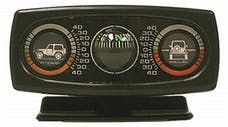 Rugged Ridge 13309.01 Clinometer with Compass; Universal