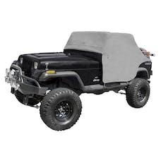 Rugged Ridge 13310.09 Cab Cover; Gray; 87-91 Jeep Wrangler YJ