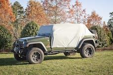 Rugged Ridge 13318.10 Weather Lite Cab Cover; 07-17 Jeep Wrangler JKU