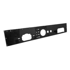 Rugged Ridge 13320.11 Dash Panel; Pre-Cut Holes; Black; 76-86 Jeep CJ Models