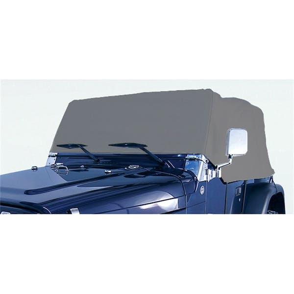 Outland Automotive 391332102 Deluxe Cab Cover; 76-06 Jeep CJ/Wrangler YJ/TJ