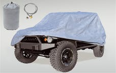 Rugged Ridge 13321.81 Car Cover Kit; 07-17 Jeep Wrangler JK