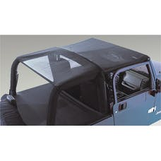 Rugged Ridge 13577.01 Mesh Roll Bar Top; 92-95 Jeep Wrangler YJ