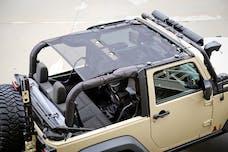 Rugged Ridge 13579.06 Eclipse Sun Shade; Black; 2 Door; 07-17 Jeep Wrangler JK