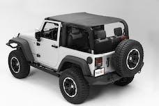 Rugged Ridge 13591.35 Pocket Island Topper; Black Diamond; 10-17 Jeep Wrangler JK