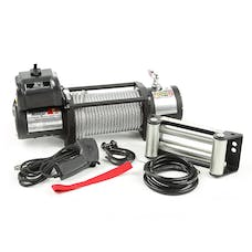Rugged Ridge 15100.20 Spartacus Heavy Duty Winch; Steel Cable; 12500 lbs