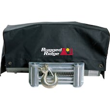Rugged Ridge 15102.02 Winch Cover; 8500 and 10500 winches