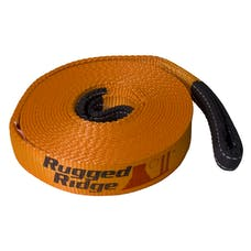Rugged Ridge 15104.03 Recovery Strap; 4 Inch x 30 feet