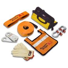 Rugged Ridge 15104.25 XHD Recovery Gear Kit; 20000 Pounds