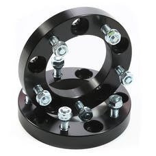 Rugged Ridge 15201.13 Wheel Spacers; 1.00 Inch; Black; 86-05 Suzuki Models
