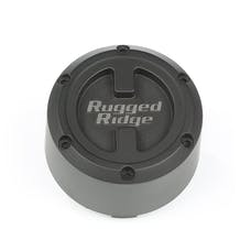 Rugged Ridge 15201.55 XHD Center Cap; Black; 17x9