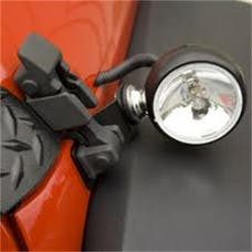 Rugged Ridge 15207.72 Off Road Fog Light; Spare for Hood-Mounted Kits; 3 Inch; 100 Watt