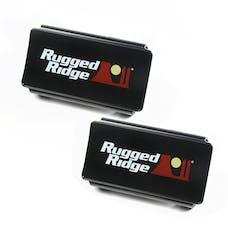 Rugged Ridge 15210.47 LED Light Cover Kit; 6 Inch; Black