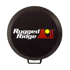Rugged Ridge 15210.50 6 Inch HID Off Road Light Cover; Black