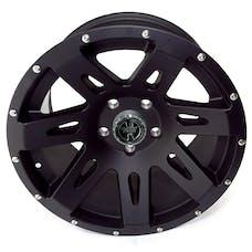 Rugged Ridge 15301.01 XHD Wheel, 17x9, Black Satin
