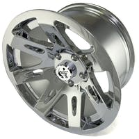 Rugged Ridge 15301.20 XHD Wheel; 17x9; Chrome; 07-17 Jeep Wrangler JK