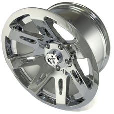 Rugged Ridge 15301.20 XHD Wheel; 17x9; Chrome; 07-17 Jeep Wrangler JK