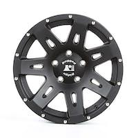Rugged Ridge 15301.60 XHD Wheel; Black Satin; 17x8.5; 07-17 JK/JKU