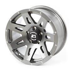 Rugged Ridge 15301.61 XHD Wheel; Gun Metal; 17x8.5; 07-17 JK/JKU