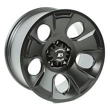 Rugged Ridge 15302.02 Drakon Wheel; 18x9; Black Satin; 07-17 Jeep Wrangler JK