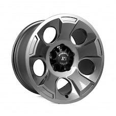 Rugged Ridge 15302.30 Drakon Wheel; 17x9; Gun Metal; 07-17 Jeep Wrangler JK