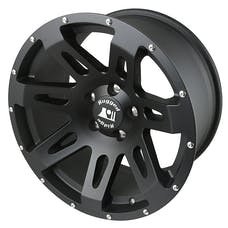 Rugged Ridge 15305.01 XHD Wheel, 18x9, Black Satin