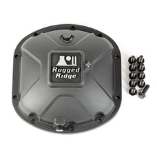 Rugged Ridge 16595.13 Boulder Aluminum Differential Cover