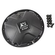 Rugged Ridge 16595.14 Boulder Aluminum Differential Cover, Black