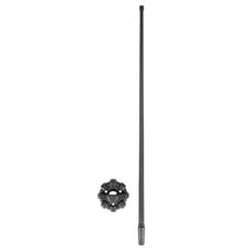 "Rugged Ridge 17212.43 13"" Reflex Antenna with Base"