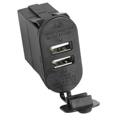 Rugged Ridge 17235.16 Dual USB Port With Qi capabilities 3.0